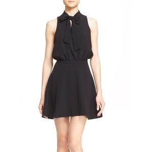 ELIZABETH & JAMES Enya Sleeveless Black Bow Dress